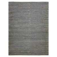 Amer Modern Natural Flat-Weave 5' x 8' Area Rug in Light Blue
