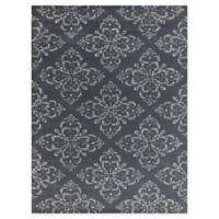 Amer Serendipity Transitional 7'6 x 9'6 Area Rug in Grey