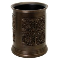 Imperial Wastebasket in Tuscan Gold