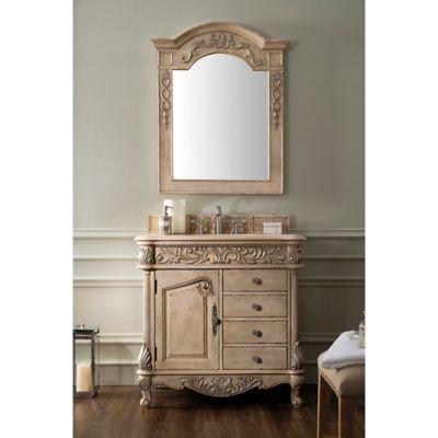 James Martin Furniture Monte Carlo 36 Inch Single Vanity In Empire Linen