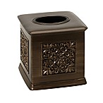 India Ink Imperial Boutique Tissue Box Holder in Tuscan Gold