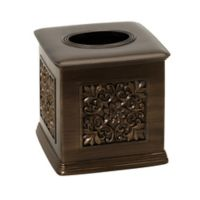 Imperial Boutique Tissue Holder in Tuscan Gold