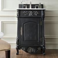 James Martin Furniture St. James 24-Inch Single Vanity in Empire Black