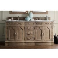 James Martin Furniture Amalfi 72-Inch Double Vanity in Empire Grey