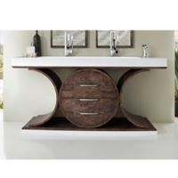 James Martin Furniture Oasis 72-Inch Double Vanity in Olive Ash Eclipse