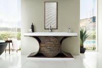 James Martin Furniture Oasis 72-Inch Single Vanity in Olive Ash Eclipse