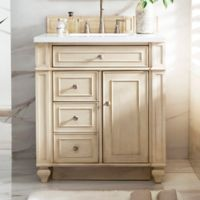 James Martin Furniture Bristol 30-Inch Single Vanity in Vintage Vanilla