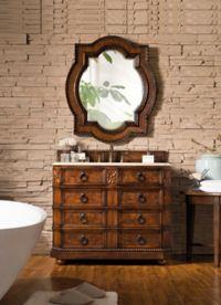 James Martin Furniture Regent 41-Inch Single Vanity in English Burl