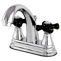 Kingston Brass Bel Air 2-Handle 4-Inch Centerset Faucet with Brass Pop Up in Polished Chrome