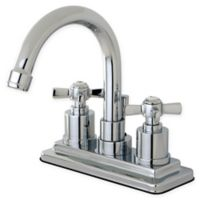 Kingston Brass 2-Handle 4-Inch Centerset Lavatory Faucet in Polished Chrome