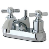 Kingston Brass 2-Handle 4-Inch Centerst Lavatory Faucet in Polished Chrome