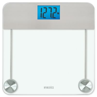 Homedics Stainless Steel Gl Digital Bathroom Scale