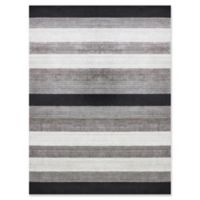 Amer Rugs Modern Blend Hand-Woven 8' x 10' Area Rug in Charcoal