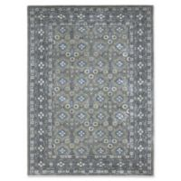 Amer Castille Moroccan Bordered 8' x 11' Hand Tufted Area Rug in Camel