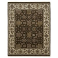 Amer Rugs Luxor 6' x 9' Area Rug in Chocolate