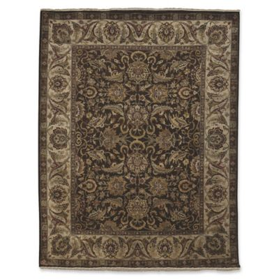 Amer Rugs Luxor 8 X 10 Hand Knotted Area Rug In Chocolate
