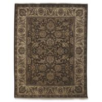 Amer Rugs Luxor 8' x 10' Hand-Knotted Area Rug in Chocolate