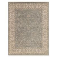 Amer Rugs Luxor 6' x 9' Hand-Knotted Area Rug in Silver