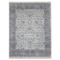 Amer Rugs Luxor 6' x 9' Hand-Knotted Area Rug in Ivory