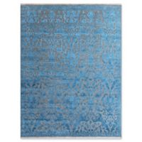 Amer Joy Transitional 6' x 9' Area Rug in Teal