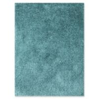 Amer Rugs Illustrations Shag 2' x 3' Accent Rug in Calypso Blue