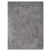 Amer Rugs Illustrations Shag 2' x 3' Accent Rug in Grey