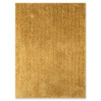 Amer Rugs Illustrations Shag 3'6 x 5'6 Area Rug in Gold