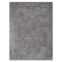 Amer Rugs Illustrations Shag 5' x 7'6 Area Rug in Grey