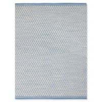 Amer Loft Modern 5' x 8' Area Rug in Blue