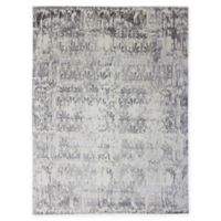 Amer Synergy Abstract 8' x 10' Area Rug in Ivory