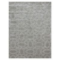 "Amer City Imperial Trellis 7'6"" x 9'6"" Hand Tufted Area Rug in Grey"