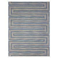 Amer Rugs Dwell Meander 7'6 x 9'6 Area Rug in Blue