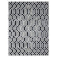 Amer Dwell Transitional 8' x 11' Area Rug in Taupe