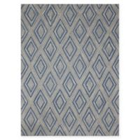 Amer Rugs Dwell Diamond 2' x 3' Accent Rug in Grey
