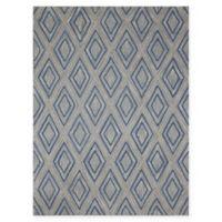 Amer Rugs Dwell Diamond 7'6 x 9'6 Area Rug in Grey