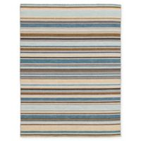 Amer Rugs Elana Striped 4' x 6' Area Rug in Pastel Yellow