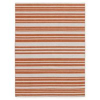 Amer Rugs Elana Striped 8' x 10' Area Rug in Orange