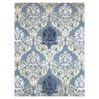 Amer Rugs Kanoka 8' x 11' Medallion Hand-Tufted Area Rug in Silver