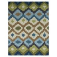 Amer Piazza 7'6 x 9'6 Indoor/Outdoor Rug in Blue