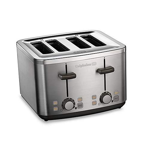Calphalon® Brushed Stainless Steel 4-Slice Toaster