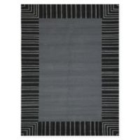 Amer Rugs Piazza Traditional Multi-Purpose 7'6 x 9'6 Area Rug in Grey