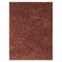Amer Peacock 5' x 7'6' Shag Area Rug in Red