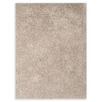 Amer Peacock 5' x 7'6' Shag Area Rug in Champagne