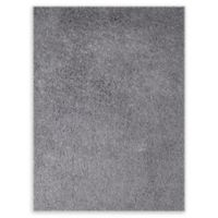 Amer Peacock 5' x 7'6' Shag Area Rug in Silver