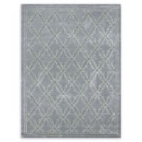 Amer Serendipity Transitional 5' x 8' Area Rug in Blue