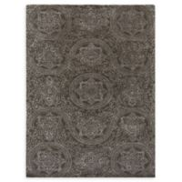 Amer Rugs Serendipity Regal Damask 7'6 x 9'6 Area Rug in Grey
