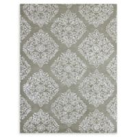 Amer Serendipity Medallion 7'6 x 9'6 Area Rug in Grey