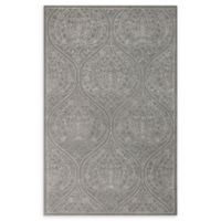 Amer Rugs Serendipity Damask Trellis 7'6 x 9'6 Area Rug in Blue