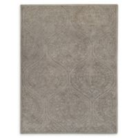 Amer Rugs Serendipity Damask Trellis 7'6 x 9'6 Area Rug in Grey