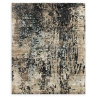 Amer Synergy Transitional Hand-Knotted 2' x 3' Area Rug in Charcoal